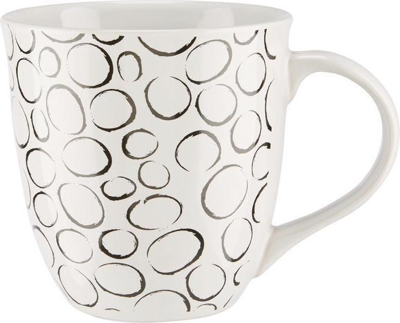 Velika Skodelica Bubble - črna/bela, keramika (10,8/11,2cm) - Mömax modern living