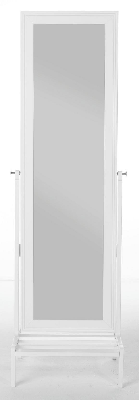 Standspiegel ca. 50x170x50cm - Weiß, LIFESTYLE, Holz (50/169.5/50cm) - Zandiara