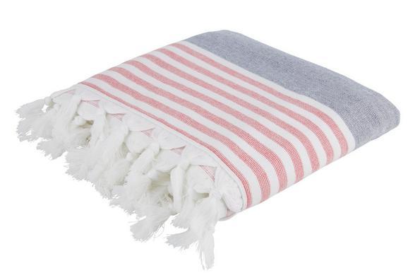 Brisača Za Na Plažo Hamam Streif - turkizna/modra, tekstil (100/175cm) - Mömax modern living