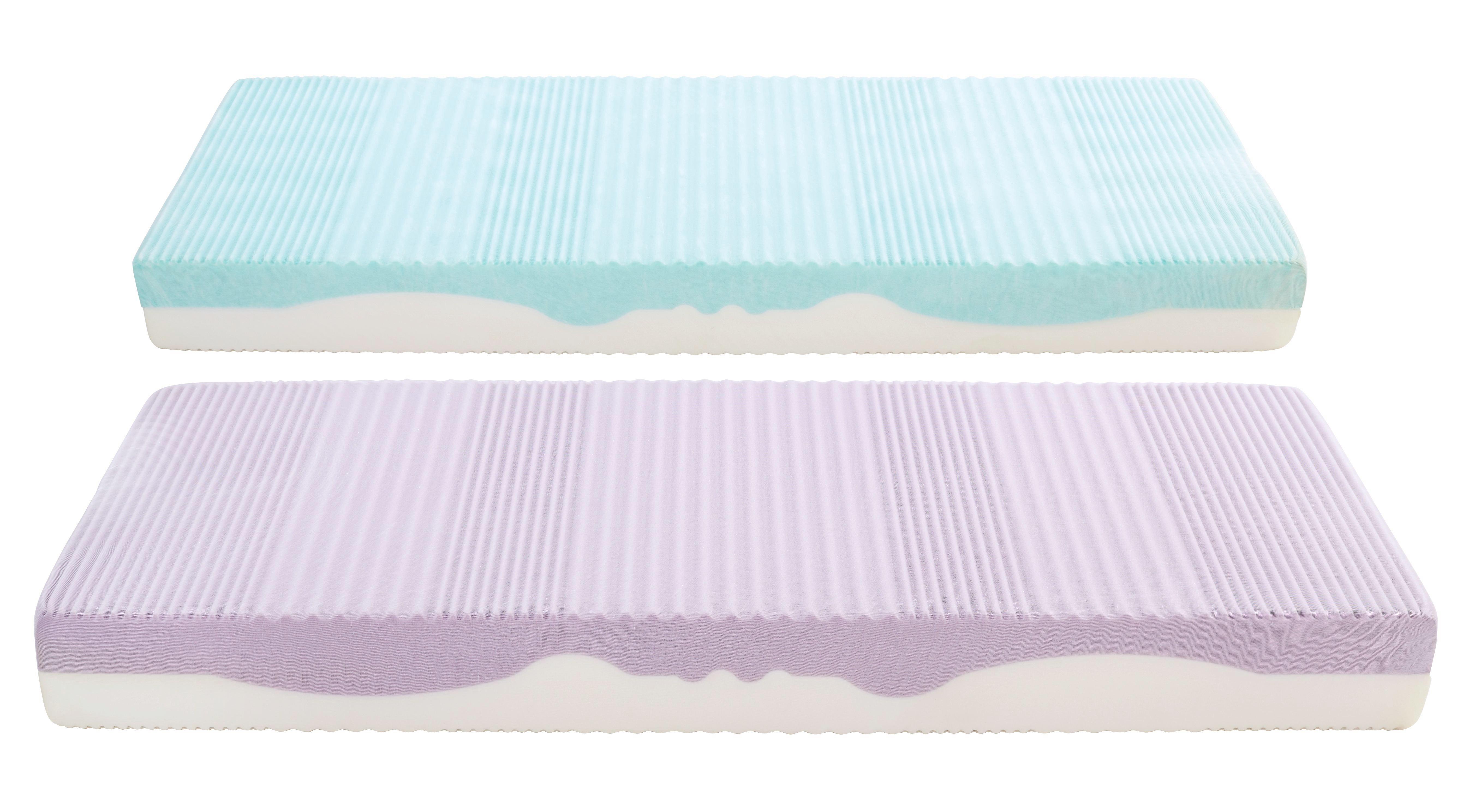 Matrac Ergo Duo H2 - fehér, textil (160/200cm) - PRIMATEX
