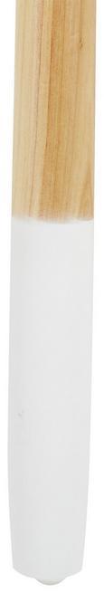 Beistelltisch in Weiß/birkefarben - Birkefarben/Weiß, MODERN, Holz/Holzwerkstoff (40/61/30cm) - Mömax modern living