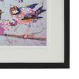 Bild Birdy IIi ca.46x56x3cm - Multicolor/Schwarz, MODERN, Glas/Holz (46/56/3cm) - Mömax modern living