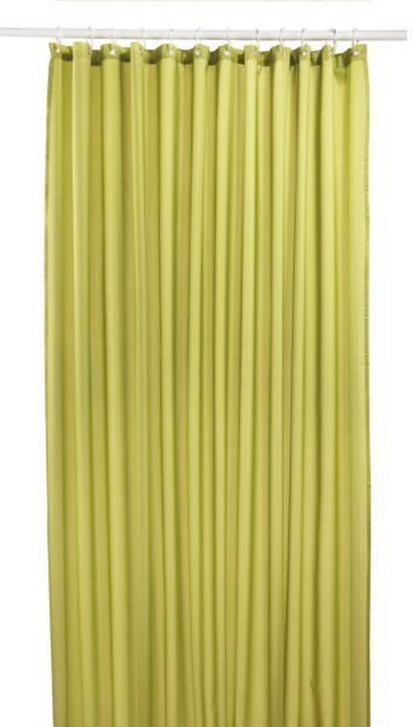 Kopalniška Zavesa Uni - zelena, tekstil (180/200cm) - Mömax modern living