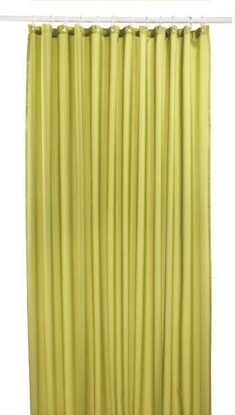 Zuhanyfüggöny Uni - zöld, textil (180/200cm) - MÖMAX modern living