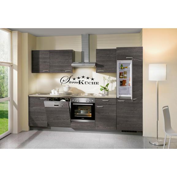 Kuhinjski Blok Plan - siva/hrast, Moderno, umetna masa/leseni material (280cm)