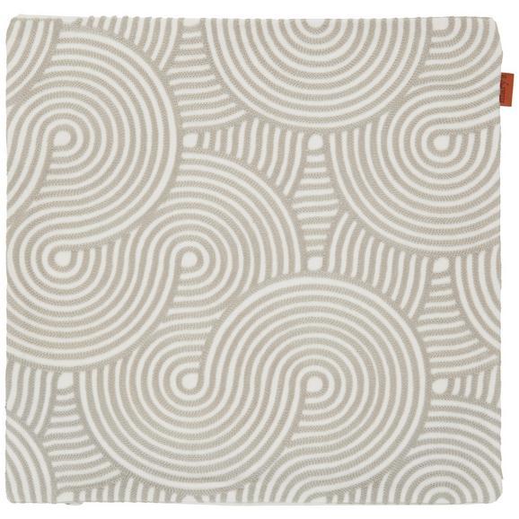 Prevleka Blazine Mary Stick - svetlo siva, Moderno, tekstil (45/45cm) - Mömax modern living