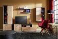 Beistelltisch Naturfarben/Schwarz - Schwarz/Naturfarben, MODERN, Holz/Metall (45/45/60cm) - Modern Living