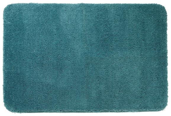 Badematte Juliane Petrol - Petrol, Textil (60/90cm) - Premium Living