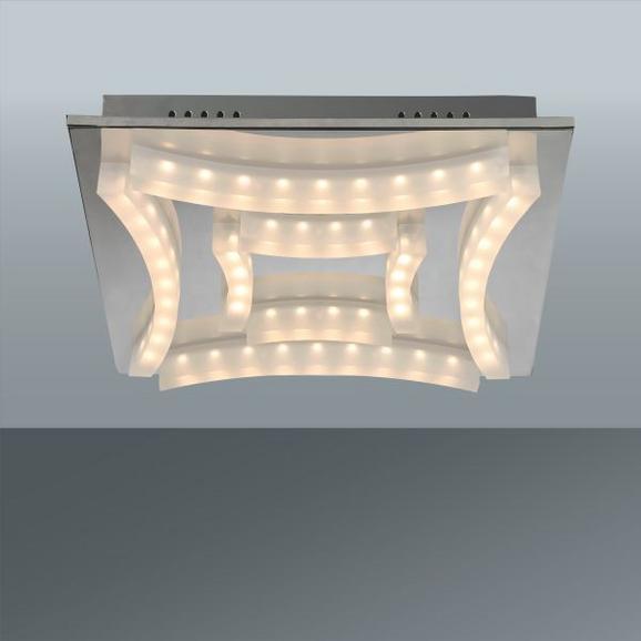 Deckenleuchte Frowin, max. 3,25 Watt - Chromfarben, Kunststoff/Metall (40/40/8cm) - Mömax modern living
