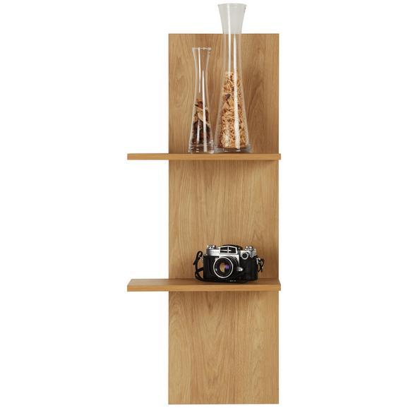 Wandboard Eiche - Eichefarben, LIFESTYLE, Holzwerkstoff (40/101/24cm) - Mömax modern living