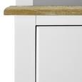 Kredenz Anouk - Weiß, MODERN, Holz (117,5/183/45,5cm) - Modern Living