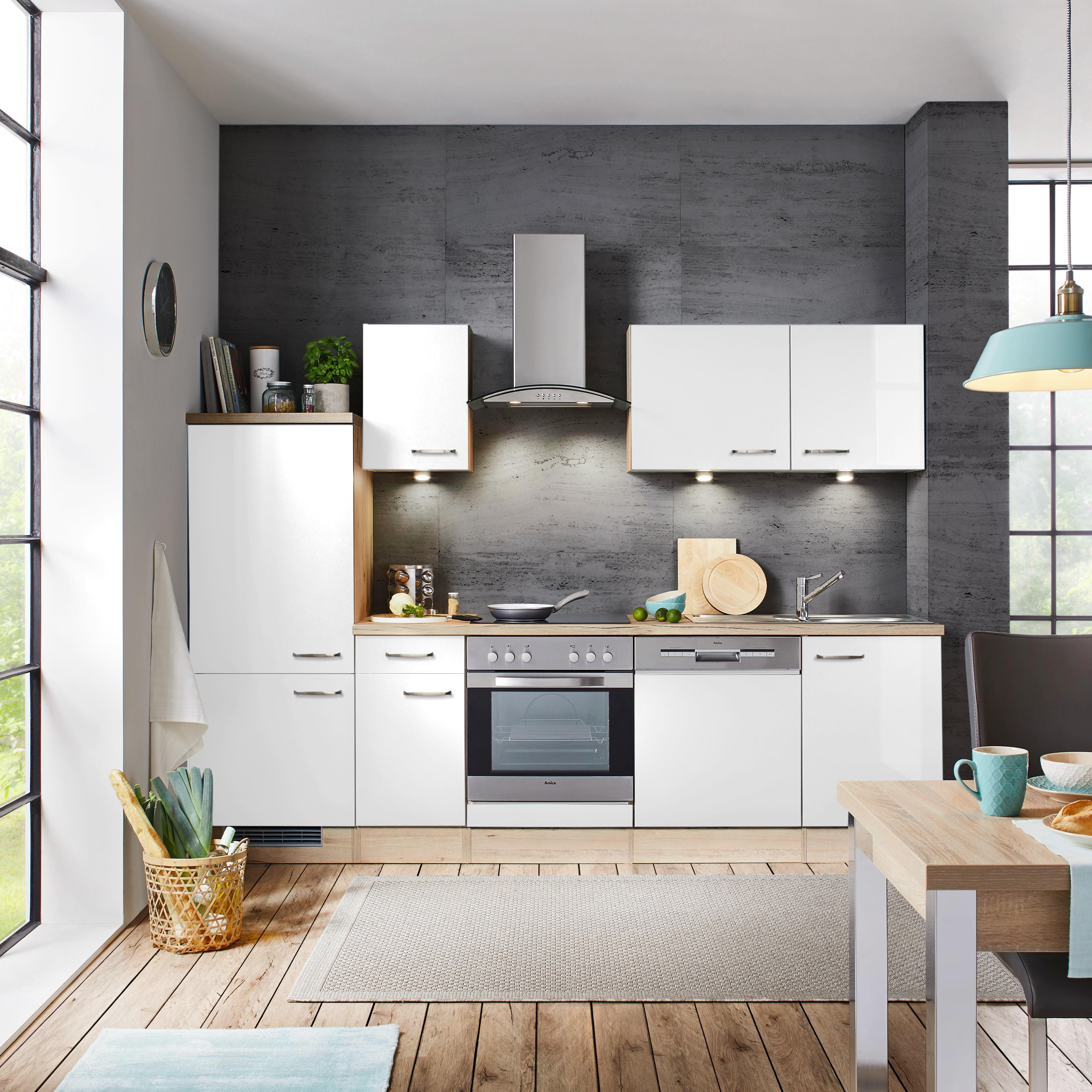 Perfekt Faszinierend Küche Ohne Oberschränke ...