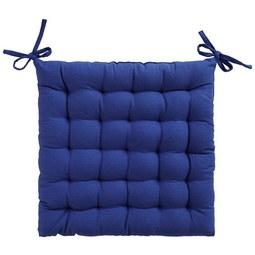 Sitzkissen Anke in Blau ca. 40x40cm - Blau, Textil (40/40cm) - Mömax modern living
