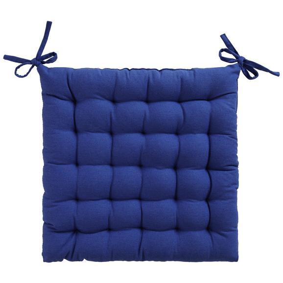 Ülőpárna Anke - Kék, Textil (40/40cm) - Mömax modern living