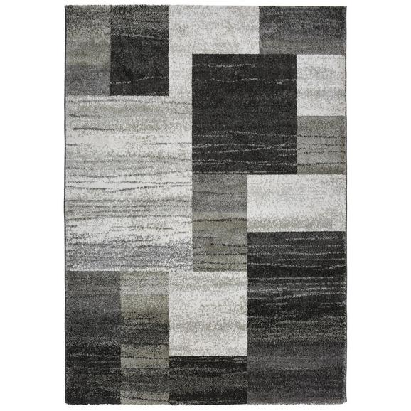 Webteppich Tina ca. 80x150cm - Anthrazit/Beige, KONVENTIONELL, Textil (80/150cm) - Mömax modern living