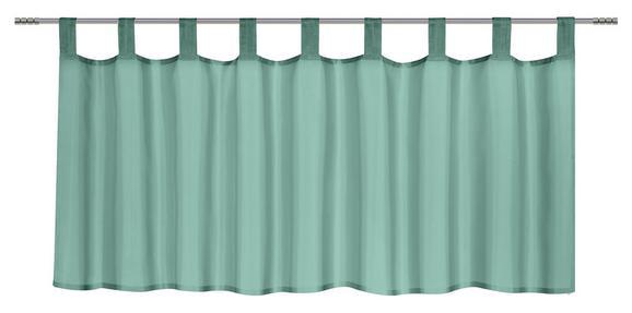 Vitrázsfüggöny Hanna - Zöld, Textil (145/50cm) - Mömax modern living