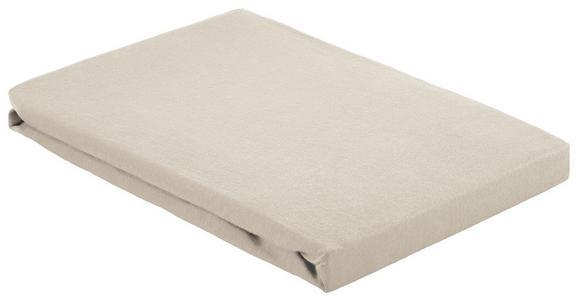 Spannleintuch Basic Natur 100x200 cm - Naturfarben, Textil (100/200cm) - Mömax modern living