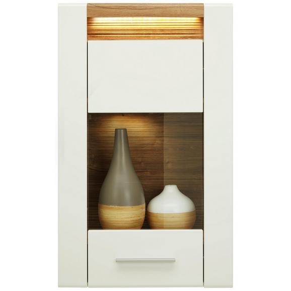 h ngevitrine wei eichenfarbe online bestellen. Black Bedroom Furniture Sets. Home Design Ideas