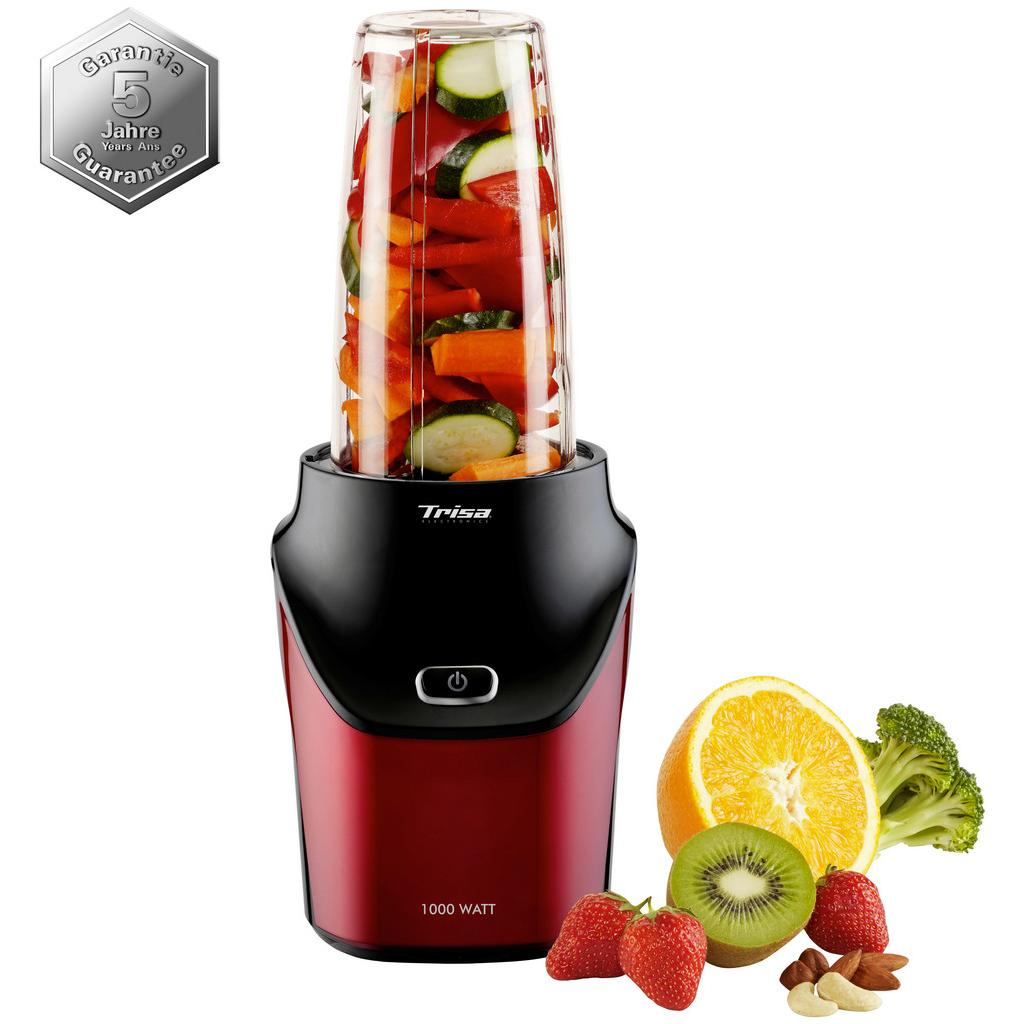 Smoothie Maker Energy Boost in Rot/Schwarz