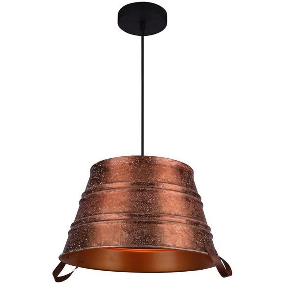 Hängeleuchte Hanno max. 60 Watt - Kupferfarben, LIFESTYLE, Metall (45/180cm) - Premium Living