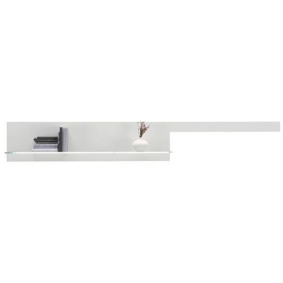 Wandboard Weiß - Weiß, MODERN, Holzwerkstoff (246/35/20cm) - Premium Living