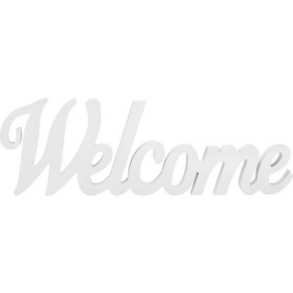 Dekobuchstaben Carla verschiedene Farben - Weiß, MODERN, Holzwerkstoff (48/15,5/1,8cm) - Mömax modern living