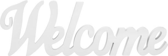 Dekor Betűk Carla - fehér, modern, faanyagok (48/15,5/1,8cm) - MÖMAX modern living