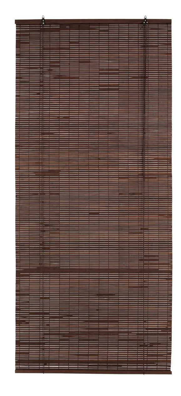 Rollo Woody Braun ca. 80x180cm - Dunkelbraun, Holz (80/180cm) - Mömax modern living