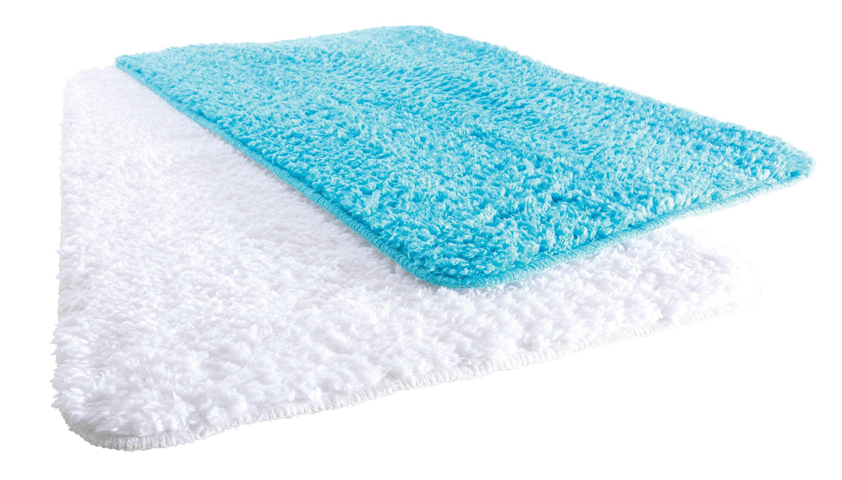 Fürdőszobaszőnyeg Kerstin Fluffy - fehér, textil (50/80cm) - MÖMAX modern living
