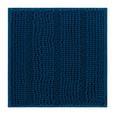 Fürdőszobaszőnyeg Uwe - Olajkék, Textil (50/50cm) - Mömax modern living