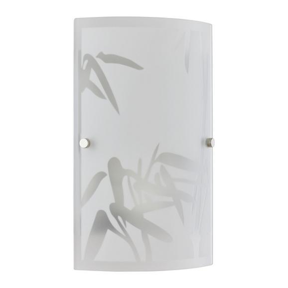 Falilámpa Square - Fehér, konvencionális, Üveg (15,2/25,5cm) - Mömax modern living