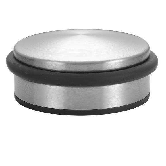 Dispozitiv Blocare Ușă Bruce - argintiu, metal (10/4,5cm) - Modern Living