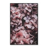 Keilrahmenbild Denise ca. 60x90cm - Pink/Schwarz, Papier/Holzwerkstoff (60/90cm) - Mömax modern living