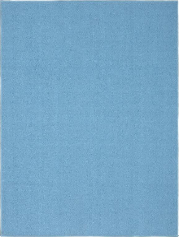 Teppich Eton in Blau 120x160cm - Hellblau, LIFESTYLE, Textil (120/160cm) - Mömax modern living