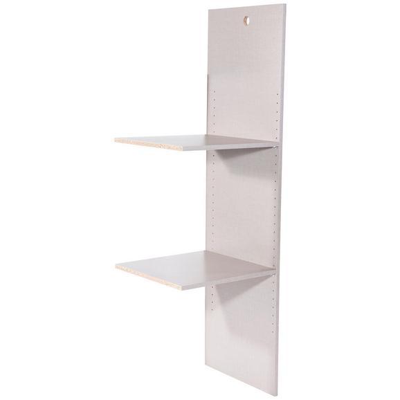 Compartimentare Interioară Korbach - gri, Modern, compozit lemnos (45/147/45cm)