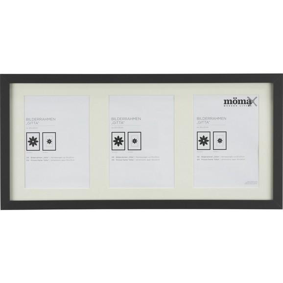 bilderrahmen gitta ca 23x50cm in schwarz online kaufen m max. Black Bedroom Furniture Sets. Home Design Ideas