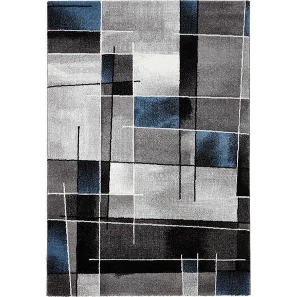 Covor Țesut Ibiza 3 - albastru, Konventionell, textil (160/230cm) - Modern Living