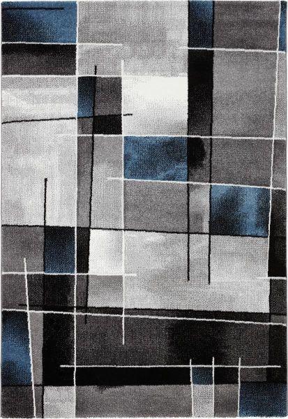 Webteppich Ibiza 120x170cm - Blau, KONVENTIONELL, Textil (120/170cm) - Mömax modern living