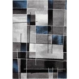Webteppich Ibiza 120x170cm - Türkis, KONVENTIONELL, Textil (120/170cm) - Mömax modern living