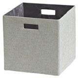 Aufbewahrungsbox Bobby - Silberfarben, MODERN, Textil (33/33/32cm) - Mömax modern living