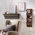 Naslonjač Evita - siva/bež, Romantik / Landhaus, tekstil/drvo (83/102/87cm) - Zandiara