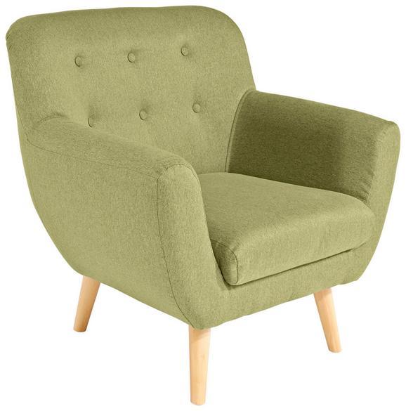Fotelja Somero - limeta/siva, MODERN, drvni materijal/drvo (89/86/78cm) - Ombra