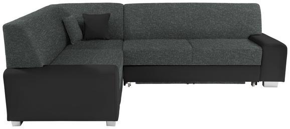 Funkcijska Sedežna Ganritura Miami - črna/siva, Moderno, umetna masa/tekstil (210/260cm) - MÖMAX modern living