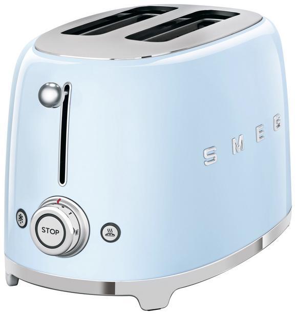 Toaster Smeg Tsf01pbeu Hellblau - Hellblau (31/19,8/19,5cm) - SMEG