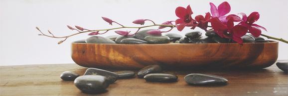 Kép Orchidee - Színes, Lifestyle, Fa/Textil (30/90/2,5cm) - Mömax modern living