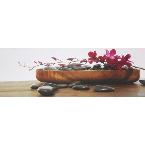 Slika Orhideja - večbarvno, Trendi, tekstil/les (30/90/2,5cm) - Mömax modern living