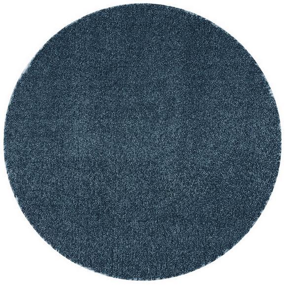 Webteppich Rubin 4 in Blau Ø ca. 200cm - Blau, LIFESTYLE (200cm) - Mömax modern living