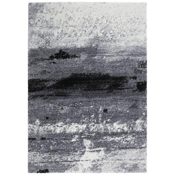 Webteppich Topas ca. 133x190cm - Hellgrau/Schwarz, MODERN (133/190cm) - Modern Living