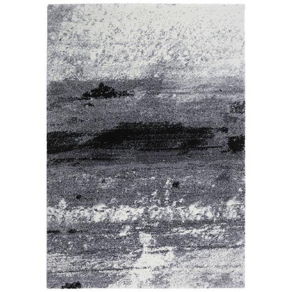 Webteppich Topas ca. 133x190cm - Hellgrau/Schwarz, MODERN (133/190cm)