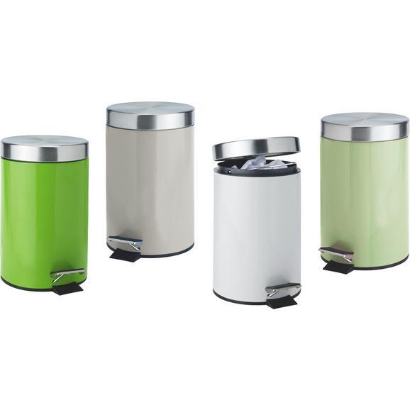 Koš Za Smeti Patricia - siva/meta zelena, Konvencionalno, kovina/umetna masa (16,8/25,6cm) - Mömax modern living
